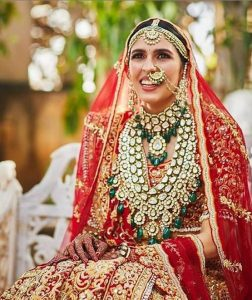 Shloka Mehta in Bridal Look