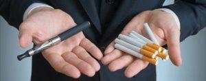 cigarette vs e cigarette