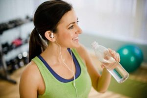 Stay active and hydrate at the time of exercise