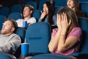 burn calories by watching horror movies 1