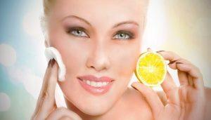 lemon and cream homemade facepack