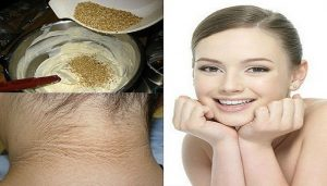 Home remedies to get rid of the blackness of neck